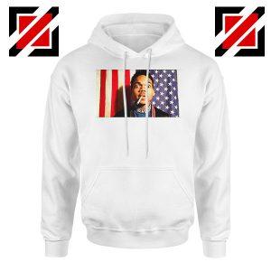 Acid Rap Mixtape American Flag White Hoodie