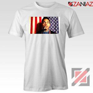 Acid Rap Mixtape American Flag White Tshirt