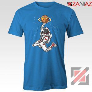 Astronaut Graphic Space Dunk Blue Tshirt