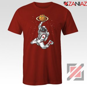 Astronaut Graphic Space Dunk Red Tshirt