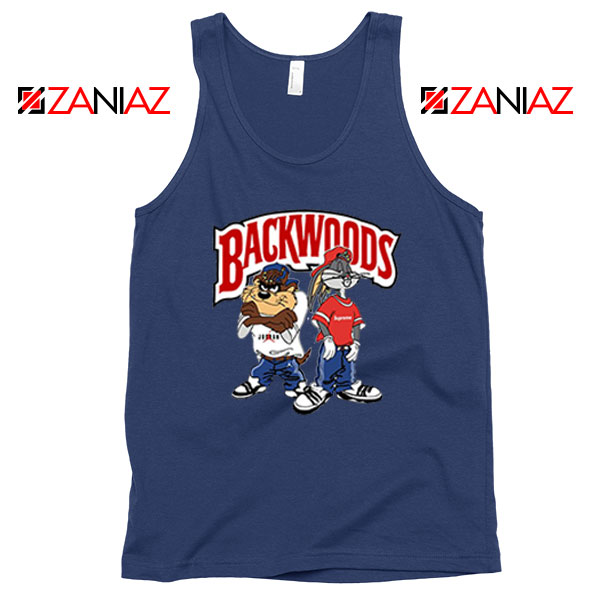 Backwoods Looney Tunes Cheap Navy Blue Tank Top