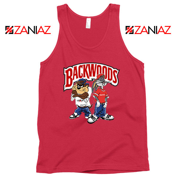 Backwoods Looney Tunes Cheap Red Tank Top