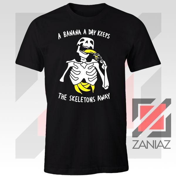 Banana The Skeletons Away Graphic Tee