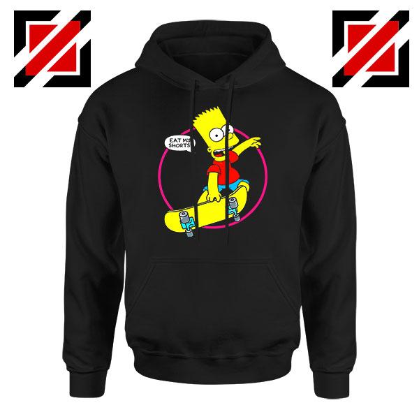 Bart Simpson Sitcom Eat My Shorts Hoodie