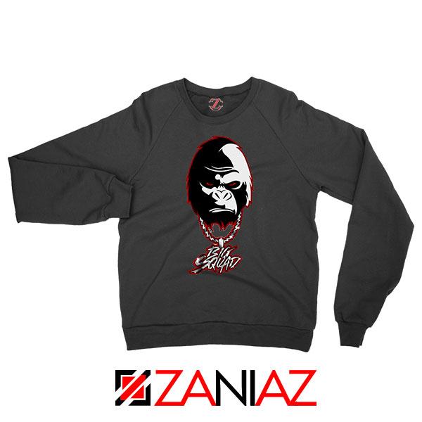 Big Squad Sada Baby Design Black Sweatshirt