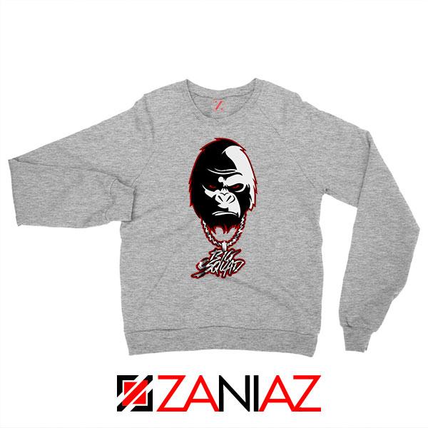 Big Squad Sada Baby Design Grey Sweatshirt