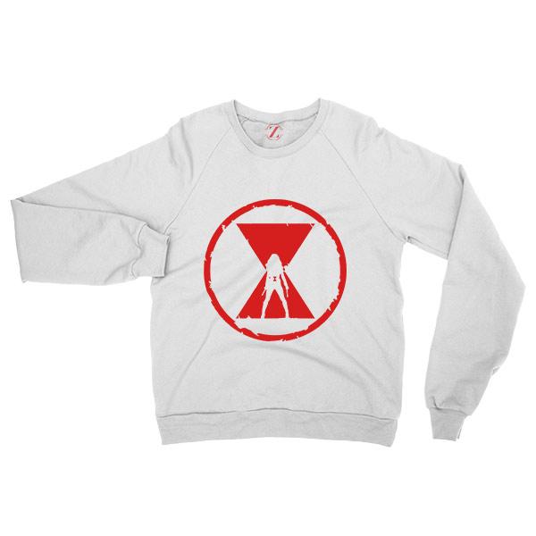Black Widow Emblem Best Graphic Sweatshirt