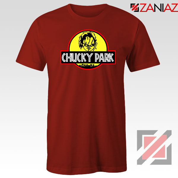 Buy Chucky Park Halloween Red Tshirt
