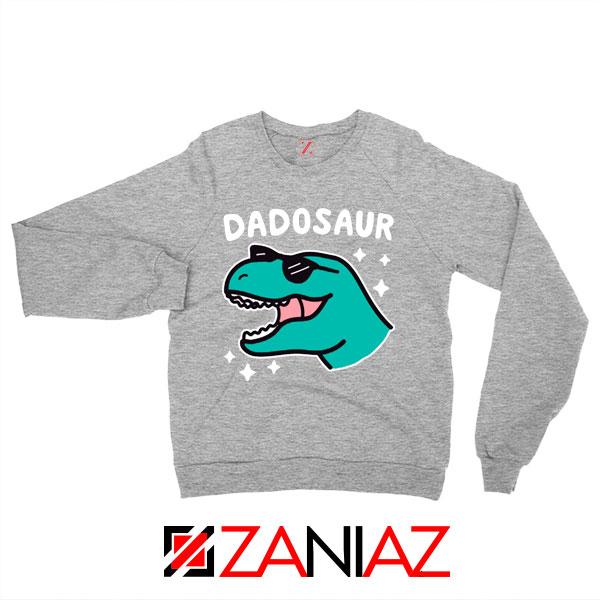 Buy Dad Dinosaur Gift Graphic Grey Sweatshirt