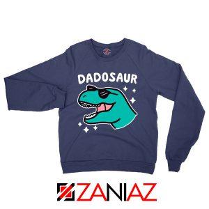 Buy Dad Dinosaur Gift Graphic Navy Blue Sweatshirt