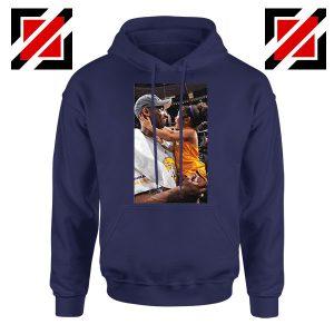Buy Kobe and Gigi NBA Champ Family Navy Blue Hoodie
