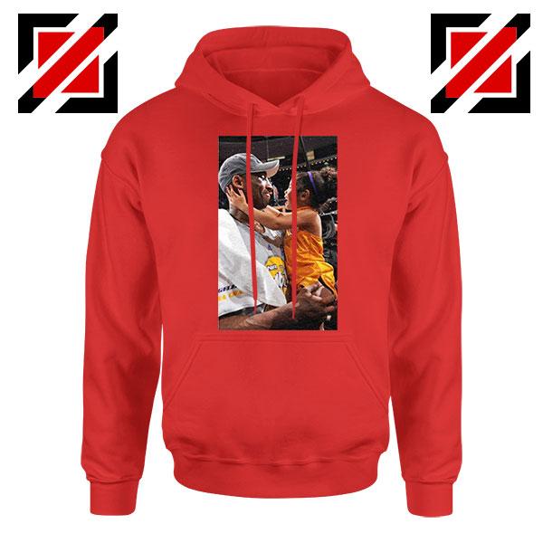 Buy Kobe and Gigi NBA Champ Family Red Hoodie