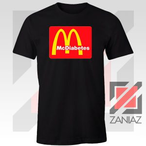 Buy Mcdiabetes Mcdonald Parody Graphic Tee