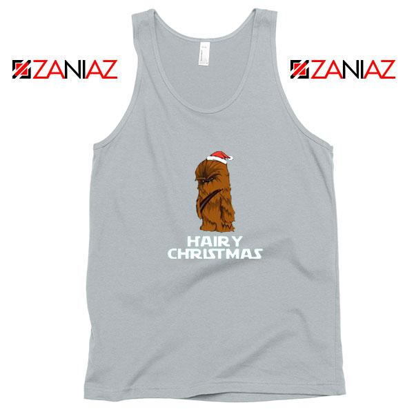 Chewbacca Hairy Christmas Sport Grey Tank Top