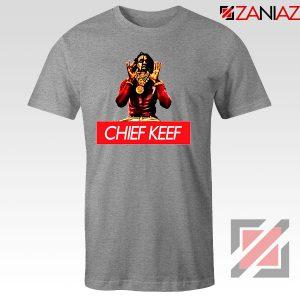 Chief Keef Gloryboys USA Rapper Grey Tshirt