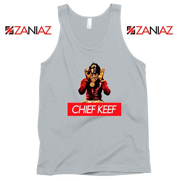 Chief Keef Vintage Rap Music Grey Tank Top