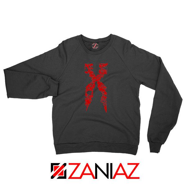 DMX Signature Design Hip Hop Black Sweatshirt