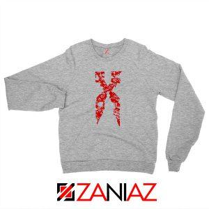 DMX Signature Design Hip Hop Grey Sweatshirt