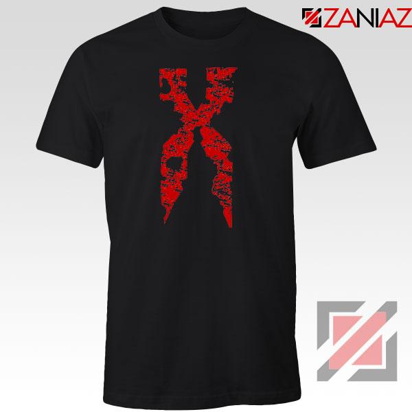 DMX Signature Design Rapper Black Tshirt