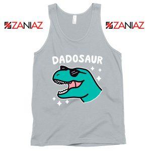 Dad Dinosaur Best Graphic Grey Tank Top