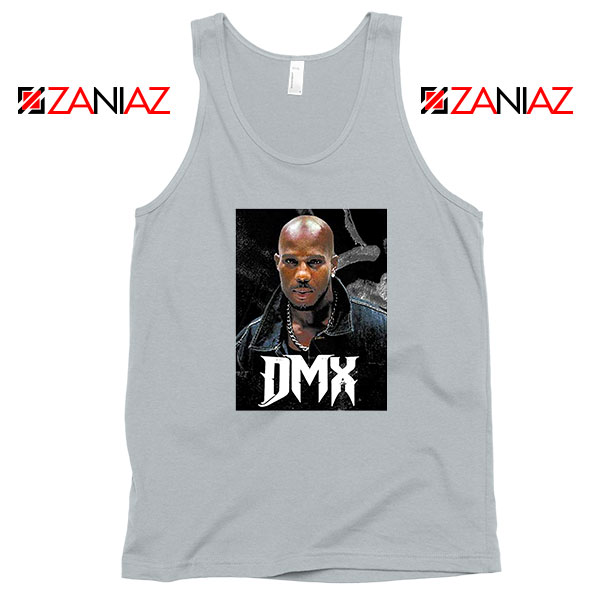 Dark Man X Gangsta Rap Music Grey Tank Top