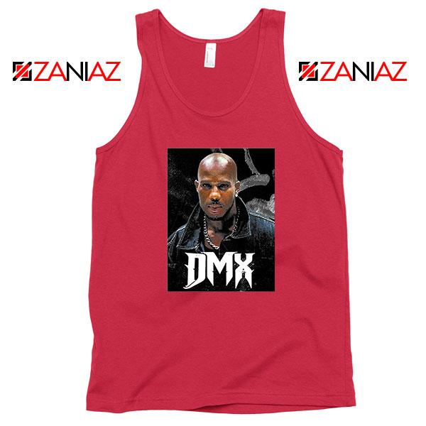 Dark Man X Gangsta Rap Music Red Tank Top