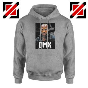 Dark Man X Rapper Music Grey Hoodie