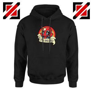 Deadpool Unicorn Mutant Black Hoodie