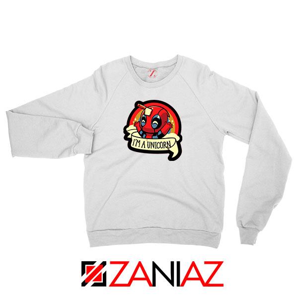 Deadpool Unicorn Superhero Sweatshirt