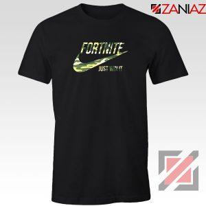 Fortnite Battle Just Win It Black Tshirt