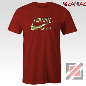 Fortnite Battle Just Win It Red Tshirt