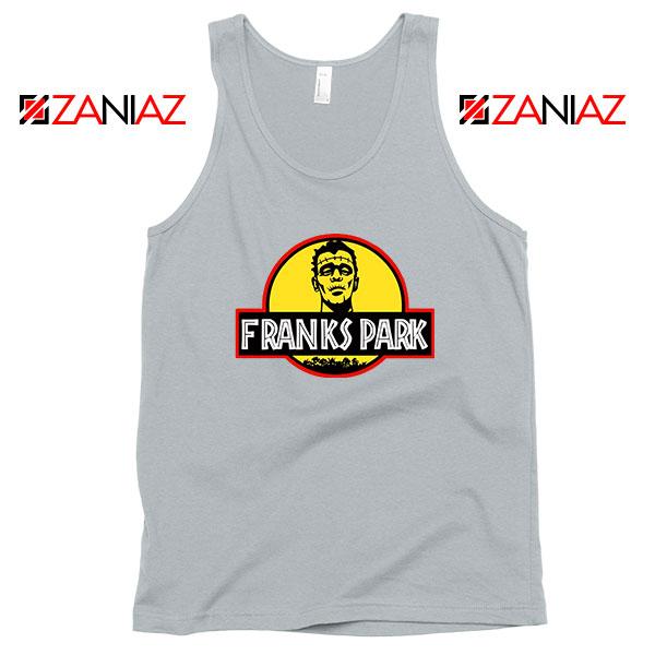 Franks Halloween Jurassic World Sport Grey Tank Top