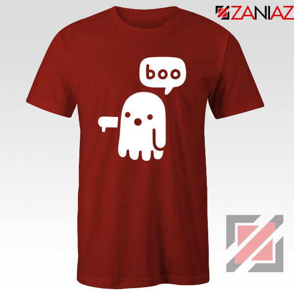 Ghost Of Disapproval Best Graphic Red Tee
