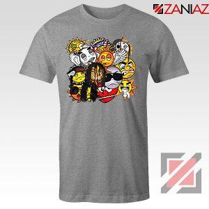 Glo Gang Label Chief Keef Grey Tshirt