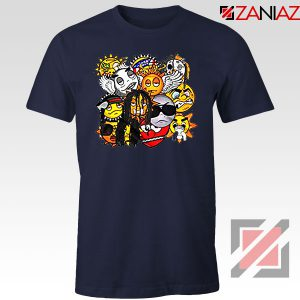 Glo Gang Label Chief Keef Navy Blue Tshirt