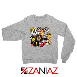 Glo Gang Music Chief Keef Grey Sweatshirt