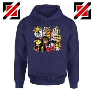 Glo Gang Music Chief Keef Navy Blue Hoodie
