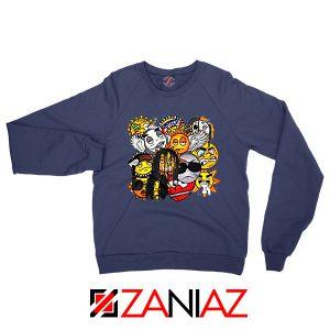 Glo Gang Music Chief Keef Navy Blue Sweatshirt