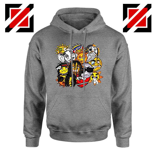 Glo Gang Music Chief Keef Sport Grey Hoodie