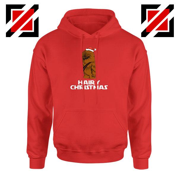 Hairy Christmas Jacket Red Hoodie