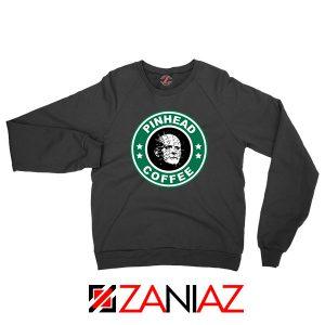 Hellraiser Horror Pinhead Coffee Sweatshirt