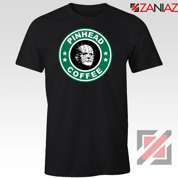 Hellraiser Horror Pinhead Coffee Tshirt