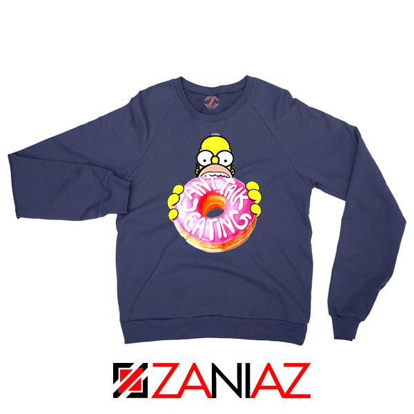 Homer Jay Simpson Eat Donut Sweatshirt