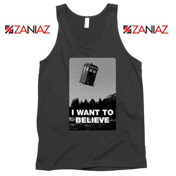 I Want To Believe Doctor Who Best Tank Top