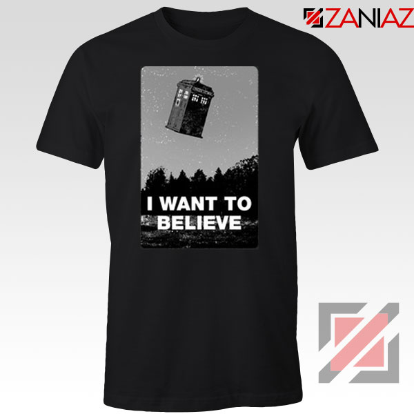 I Want To Believe Doctor Who Graphic Tee