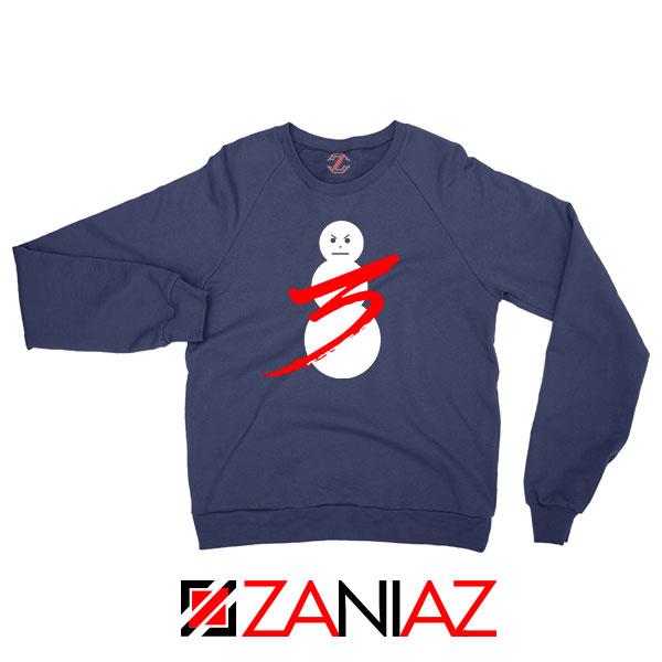 Jeezy Trap or Die 3 Best Graphic Navy Blue Sweatshirt