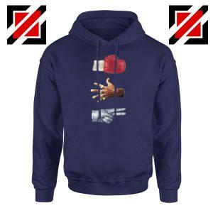 Jordan Music Boxing Cheap Navy Blue Hoodie