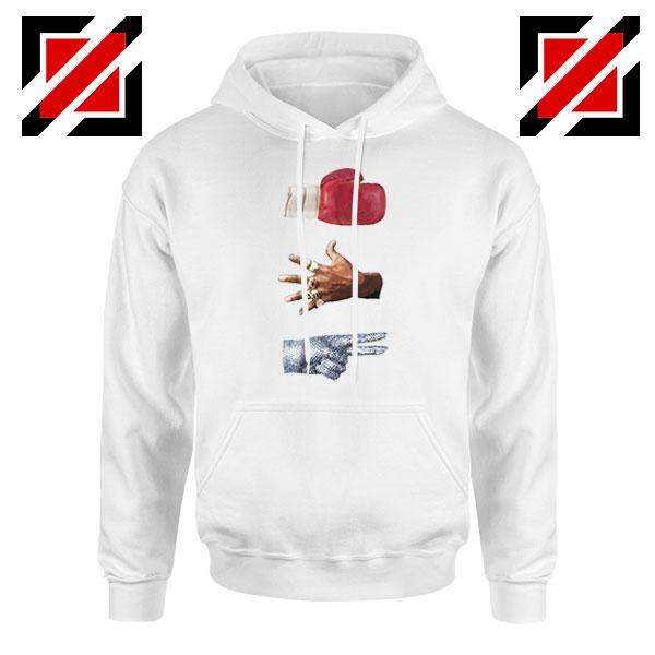 Jordan Music Boxing Cheap White Hoodie