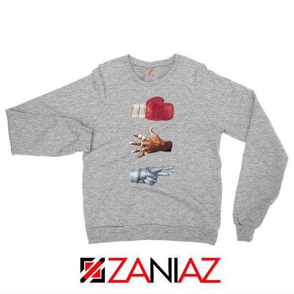 Jordan Music Boxing Grey Sweatshirt