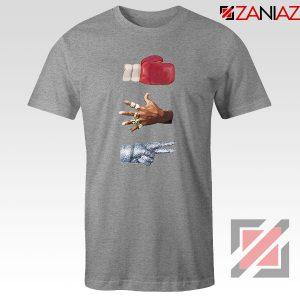 Jordan Music Boxing Grey Tshirt